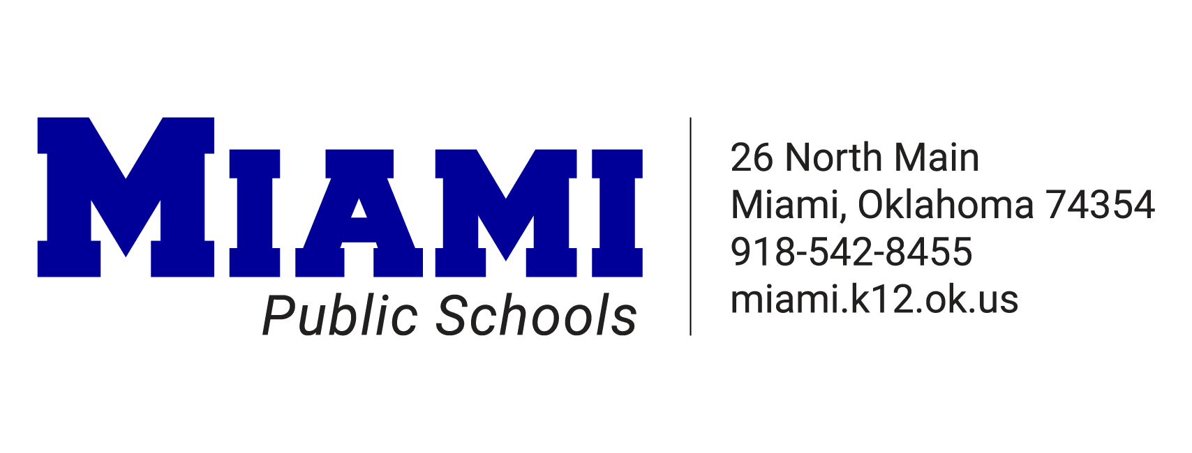 Miami Public Schools Logo and information