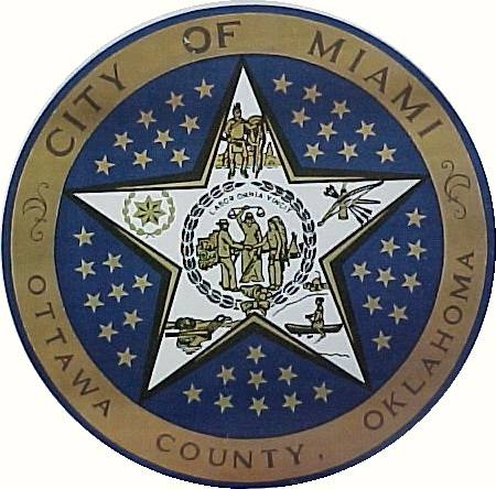 City Seal City of Miami, Oklahoma